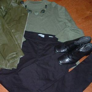 Sonoma Size 14 Skinny Black Pants